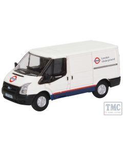 76FT031 Oxford Diecast OO Gauge Ford Transit MkV SWB London Underground