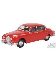 76JAG2007 Oxford Diecast 1:76 Scale OO Gauge Jaguar MkII Carmen Red