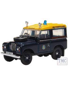 76LR3S007 Oxford Diecast OO Gauge Land Rover Series III SWB Station Wagon HM Coastguard