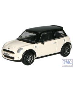 76NMN002 Oxford Diecast OO Gauge New Mini Pepper White