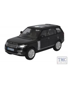 76RAN006 Oxford Diecast 1:76 Scale Santorini Black Prince William Range Rover Vogue
