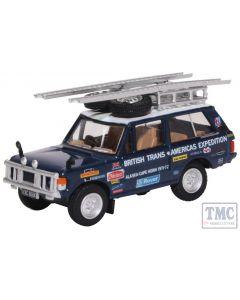 76RCL002 Oxford Diecast OO/HO Gauge Range Rover Classic Darien Gap