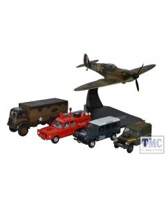 76SET58 Oxford Diecast OO Gauge RAF Centenary Set (5)