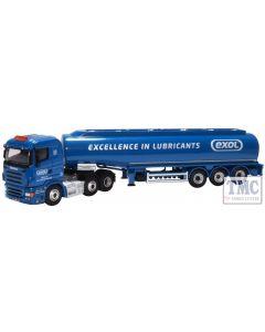 76SHL04TK Oxford Diecast OO Gauge Scania Highline Tanker Exol