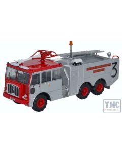 76TN004 Oxford Diecast OO Gauge Thornycroft Nubian Isle of Man Airports Board Fire Service