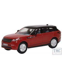 76VEL001 Oxford Diecast OO Gauge Range Rover Velar Firenze Red