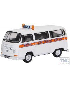 76VW031 Oxford Diecast OO Gauge VW Bay Window RAF Police