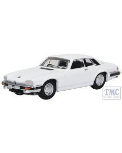 76XJS006 Oxford Diecast 1:76 Scale OO Gauge Jaguar XJS White (The Saint)