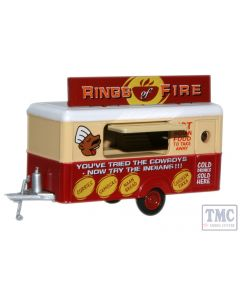 87TR008 Oxford Diecast  Mobile Trailer Rings of Fire
