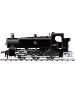 904005 Rapido Trains OO Gauge BR 15xx Pannier Tank - 1501 Lined Black Early Crest (as preserved)
