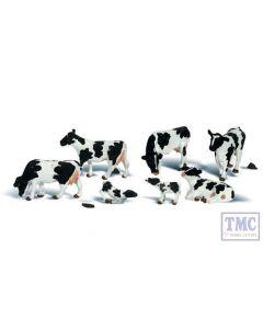 A1863 Woodland Scenics OO Gauge Holstein Cows