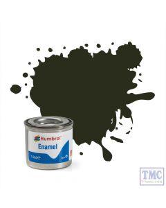 AA0583 Humbrol Enamel Paint Tinlet No 53 Gunmetal - Metallic - (14ml)