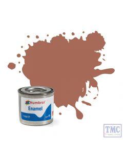 AA1242 Humbrol Enamel Paint Tinlet No 113 Rust - Matt - (14ml)