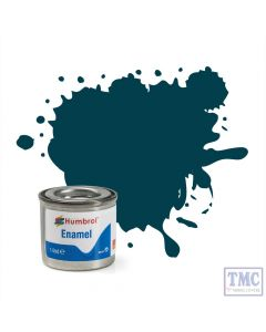 AA1822 Humbrol No 230 Pru Blue Matt Enamel Tinlet No 1 (14ml)