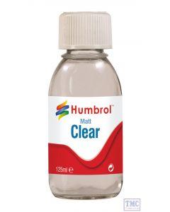AC7434 Humbrol Clear Matt 125ml