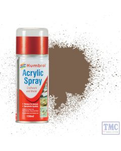 AD6029 Humbrol Paint No 29 Dark Brown - Acrylic Modellers Spray 150 ML