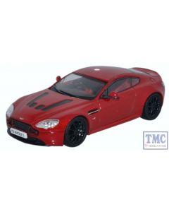 AMVT001 Oxford Diecast 1:43 Scale O Gauge Aston Martin V12 Vantage S Volcano Red