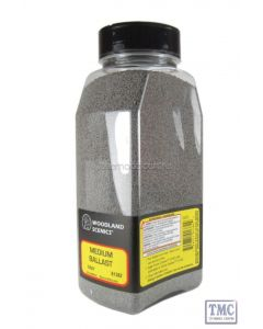 B1382 Woodland Scenics Grey Medium Ballast