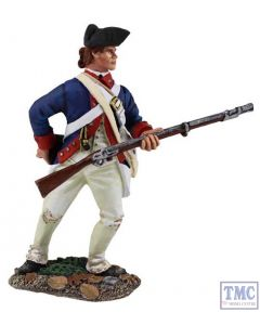 B16021 W.Britain Contenental Army 1st American Regiment Attaining Cartridge Clash of Empires Collection