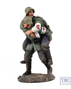 B23095 W.Britain 1916-18 German Medic Carrying Wounded Soldier 2 Piece Set World War I Collection