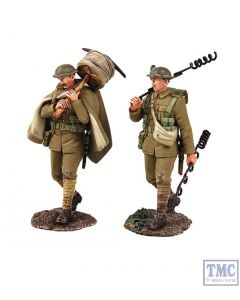 B23113 W.Britain The Work Party 2 2 Piece Ltd. Ed. of 400 Sets World War I Collection