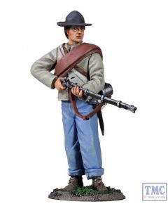 B31214 W.Britain Confederate Infantry Standing Make Ready 1 American Civil War Collection