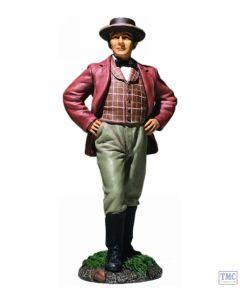 B31272 W.Britain Young Civilian Man Standing No.1 Mr. Dayfield - American Civil War