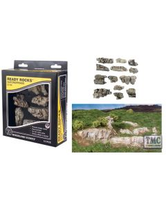 C1139 Woodland Scenics Outcroppings Ready Rocks