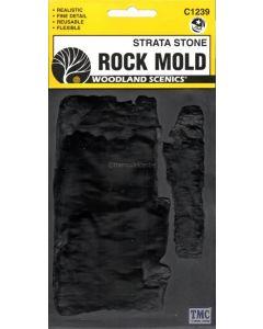 "C1239 Woodland Scenics Strata Stone Rock Mould (5""x7"")"