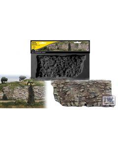 "C1248 Woodland Scenics Rock Face Rock Mould (10.5""x5"")"