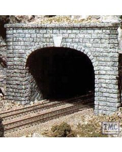 C1257 Woodland Scenics OO Gauge Cut Stone Double Tunnel Portal