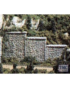 C1261 Woodland Scenics OO Gauge Random Stone Retaining Wall (x3)