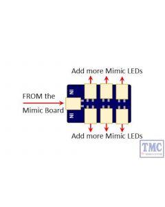 DCD-MMA3 DCC Concepts Multiple Mimic LED Connectors (6)