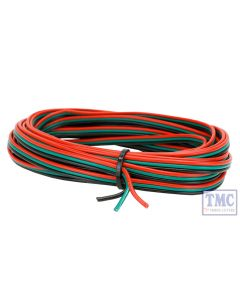 DCD-RGB DCC Concepts / Scale Cobalt Alpha 3 Wire RGB Ribbon (5m)