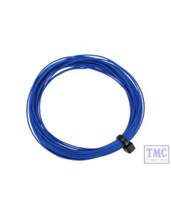 DCW-32BL DCC Concepts N/TT/HO/OO/O/G Scale Blue Stranded Decoder Wire (6m)