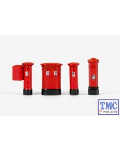 E99618 OO Gauge Post Boxes Exclusive First Edition (EFE)