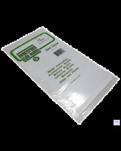 "EG2080 Evergreen Plastics 12"" x 6"" V Groove sheet 0.08 SP."