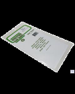 "EG4060 Evergreen Plastics 12"" x 6"" Clapboard sheet 0.060"" spacing"