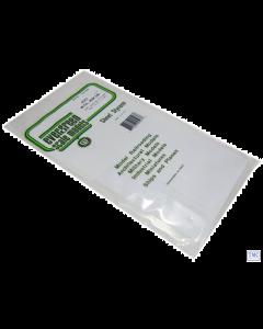 "EG4523 Evergreen Plastics 12"" x 6"" Seam roof sheet 3/8"" spacing"