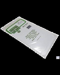 "EG4525 Evergreen Plastics 12"" x 6"" Corrugated metal sheet 0.03"" spacing"