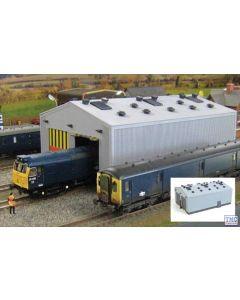 GM406 Gaugemaster Structures OO Gauge Fordhampton Locomotive Depot Plastic Kit