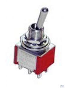 GM506 Gaugemaster DPDT Mini Toggle Switch