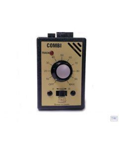 GMC-COMBI Gaugemaster N & OO Gauge Single Track Controller with Plug in Transformer