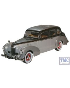 HPL002 Oxford Diecast 1:43 Scale Black Pearl/Shell Grey Humber Pullman Limousine Humber Pullman