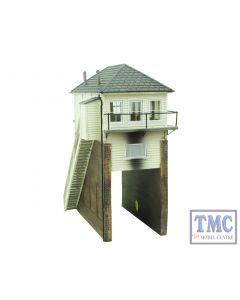 44-172Z Scenecraft OO Gauge Over Rail Signal Box TMC Limited Edition