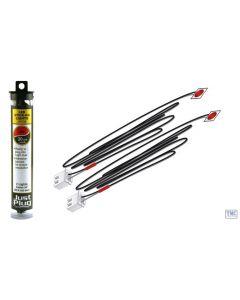 JP5739 Woodland Scenics Just Plug Red Stick-on LED Lights