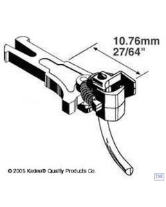 KDE19 Kadee 19 OO Gauge NEM362 European Coupler Medium Long 10.61mm (2pr)