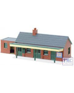 LK-12 Peco OO Gauge Country Station Building brick type Plastic Kit