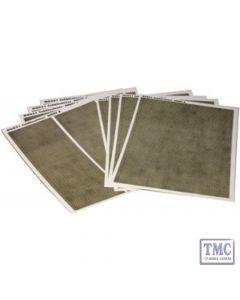 M0051 Metcalfe OO/HO Cobblestone Sheets 8 Sheets Card Kit