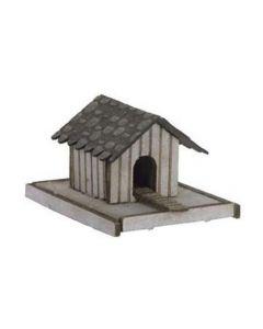 N14346 Noch HO/OO Gauge Laser Cut Minis - Duck House with Duck